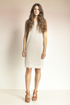 LILLY - LACE STRUCTURE DRESS