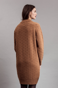 HAGAR - THICK KNIT STRUCTURE SWEATER