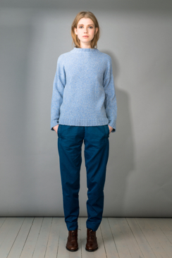 CARRIE - YAK MOULINÉ SWEATER