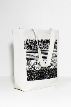 MASKA TOTE BAG WITH PRINT